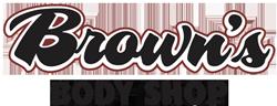 Brown's Body Shop Logo